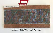 Offerta 6 pz. Listello Fascia piastrella gres porcellanato decoro ceramica 16x33