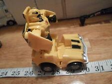 "4.5"" 2006 Hasbro Bump N' Go Cars Bumble Bee Transformer Spinning Car Vehicle"