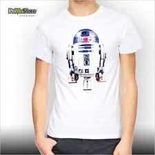 R2 D2 STAR WARS GAME T-Shirt KONSOLE SPIEL LOGO DARTH VADER PC XBOX360 PS3 Wii