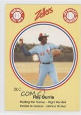 1982 Zellers Baseball Pro Tips Montreal Expos #20C Ray Burris Card