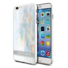 personnalisé marbre étui de téléphone pour apple Samsung Initiale Texte Nom - 47