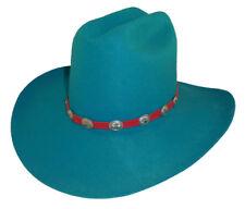 F&M Ladies Turquoise Ladies Cowboy Hat
