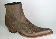 7216 sendra Bottines Javi Maraca waxy Antique Cuir Marron Bottes de cowboy