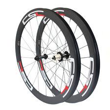 CSC Ceramic Bearing 50mm Tubular/Clincher/Tubeless Carbon Bicycle Road Wheels