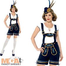 Tradizionale Deluxe Donna Bavarese Costume Oktoberfest Costume Adulti Da Donna