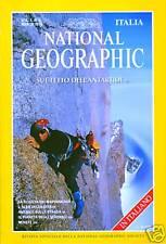 National Geographic Italia 1998 Condizioni perfette