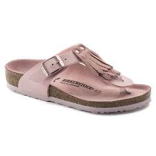 Birkenstock BF Gizeh Fringe $149rrp Rose Pink 35-39 BNIB 1008186
