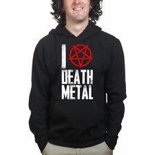 Me encanta la música pesada Thrash Death Metal Sudadera Con Capucha Camisa
