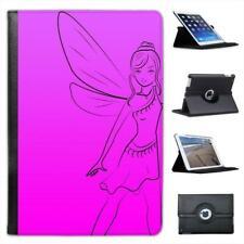 Dancing Fairy With Wings Folio Leather Case For iPad Mini & Retina