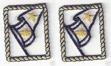 "1.5"" Nautical Marine Flag embroidery applique patch"