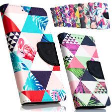 Handy Tasche für Motorola Lenovo Flip Cover Schutz Hülle Etui Wallet TROPEN