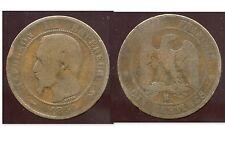 FRANCE  FRANCIA   10 centimes NAPOLEON III   1854 B    (1)