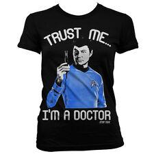 Officially Licensed Star Trek/ Trust Me- I´m A Doctor Women T-Shirt S-XXL Sizes
