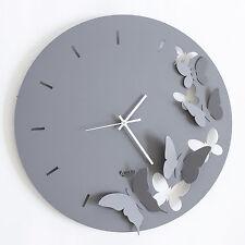 Orologio da parete farfalle Butterfly Spring ferro design Arti e Mestieri 2875