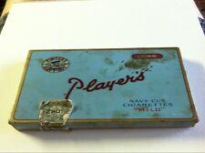 Antique Cigarette Tin Sky Blue Player's Navy Cut