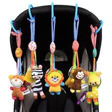 Baby Pram Bed Bells Soft Hanging Toy Animal Handbells Infant Newborn Rattles CB