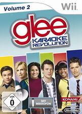 Nintendo Wii Spiel * Karaoke Revolution Glee Vol.2 + Microphon **********NEU*NEW