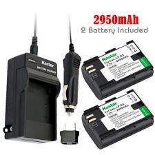 LPE6 Battery & Regular Charger for Canon EOS 6D, 7D, 7D Mark II, 60D, 60Da, 70D
