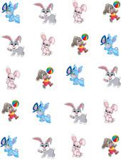 Bunnies (cartoon)  Waterslide /Water Transfer Nail Decals/ Nail Art