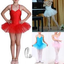 Dance Ballet Full Tutu Leotard Layered Dress For Girls da001