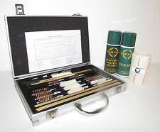 GUN / RIFLE CLEANING KIT - MULTI PURPOSE - ALUMINIUM CASE - SHOOTING - HUNTING
