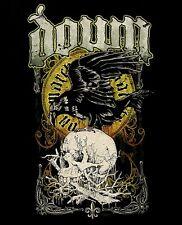 DOWN cd lgo Crow SWAMP SKULL Official SHIRT MED New pantera