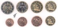 Zypern alle 8 Münzen 1 Cent - 2 Euro Kursmünzenset KMS alle Jahre wählen
