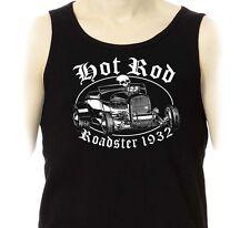 Débardeur HOT ROD  Roadster 1932 - Kustom Kulture Greaser Custom Marcel Tank Top
