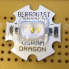 OSRAM Golden Dragon Plus Cool White 5600K 4W LED Emitter & Star Mounted 70x120