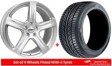 Alloy Wheels & Tyres 8.0x18 Calibre Tourer Silver + 2254018 Tyres