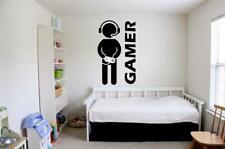 GAMER GAMING Boys Teenager Bedroom Vinyl Wall Decal / Vinyl Stickers 084
