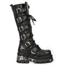 New Rock m.272mt-s1 gothic metal EBM botas motorista botas tapa de acero Steel Toe