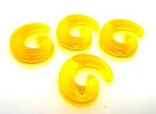 Pair UV Acrylic Snail Swirl Tunnel Plugs Stretcher Fashion Earrings Hot Gift