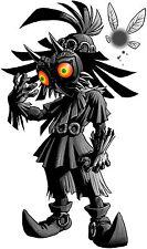 Zelda - Majoras Mask - Skull Kid Gr - Nintendo SNES N64 Wii - Wall Decal Sticker