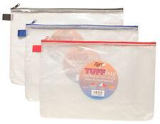 A4+ Tuff Bag Heavy Duty forte Portafoglio di archiviazione di documenti Custodia Impermeabile 35x25cm