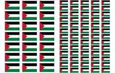 Palestine Flag Stickers rectangular 21 or 65 per sheet