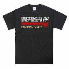 Famicom Family Japanese NES Tribute Unisex Tshirt T-Shirt Tee