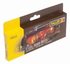 Faller - F180653 - Modélisme - LED - Blanc Clair - 5 Pièces