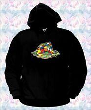 FELPA CUBO RUBIK sciolto fuso melt Sheldon sweatshirt, games, hoodie rubick NE