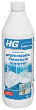 HG Hagesan blau Professional Kalkablagerungen Entferner 1 Liter Reiniger