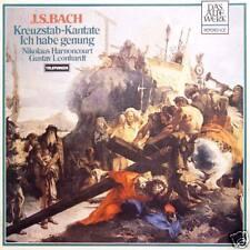 J.S.BACH Kreuzstab-Kantate Harnoncourt Leo GER Press LP