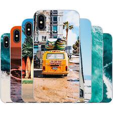 dessana Surfen TPU Silikon Schutz Hülle Case Handy Tasche Cover für Apple