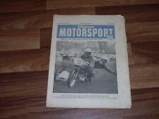 MOTORSPORT 1.11.1953 -- Motorrennsport in der DDR/BERGKÖNIG HANS STUCK/MV-Agusta