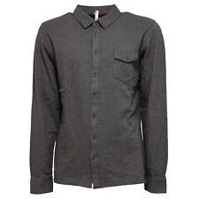 6516U polo uomo SUN 68 con bottoni grigio grey polo shirt men