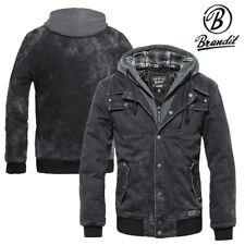 Brandit Herren Dayton Jacket Jacke mit Kapuze Sweatjacke Kapuzenjacke S bis XXL