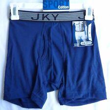 Jockey Sport Cotton Men's Boxer Brief Choose  Medium Large XL Blue Gray or Black