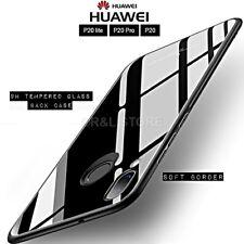 COVER per Huawei P20/ Lite/Pro ORIGINALE Crystal Glass con RETRO VETRO TEMPERATO