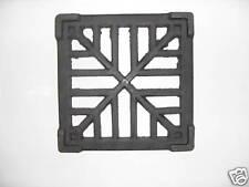 "7"" x 7"" cast iron external gully trap grid drain cover"