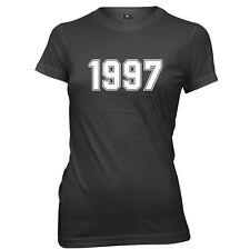 1997 Year Birthday Anniversary Womens Ladies Funny Slogan T-Shirt