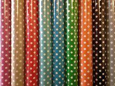 VINYL PVC Tovaglia * Facile Pulire a Pois Spot da esterno in tela cerata larghezza 140cm